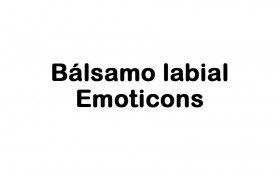 Bálsamo labial Emoticons