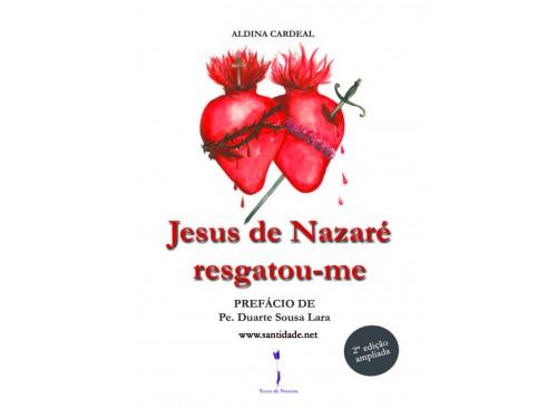 Marcador Jesus de Nazaré Resgatou-me