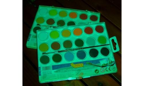 Aguarelas (18 cores) Jovi