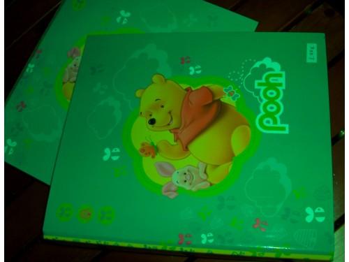 Dossiê A5, com argola, Winnie the Pooh