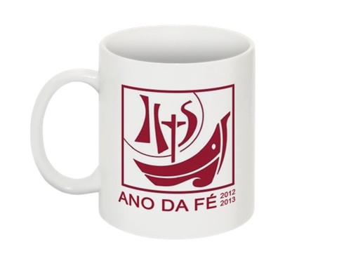 Caneca Ano da Fé – logo oficial