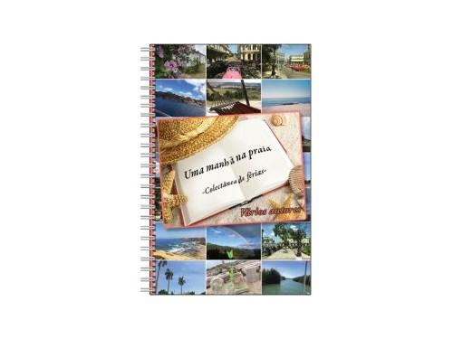 Caderno Uma manhã na praia