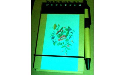 Bloco de Notas: Flores